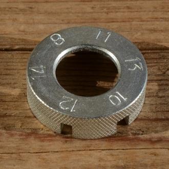 Nippelspanner / Speichenschlüssel Standardausführung, aussen gerändelt