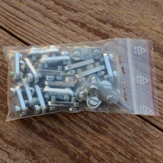 """Segmente f. Riemenfelge """"REX Frontmotor"""", glanzverzinkt, 18 Stck., passend für REX FM31/FM34/FM40/FM50"""