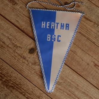"""TOBI-Wimpel """"HERTHA BSC"""", 60/70er Jahre Altbestand"""