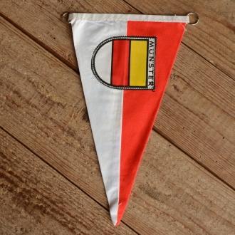 """TOBI-Wimpel """"MÜNSTER"""", 60/70er Jahre Altbestand"""