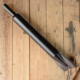 """Auspufftopf """"SACHS 98ccm"""", lang, schwarz, D=28mm/56mm L=570mm"""