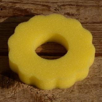 Tankring, Schaumstoff, gelb, D=85mm, H=15mm, passend für 30-40 mm Stutzen