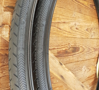 "Fahrrad Reifen ""CONTINENTAL Ride Classic "", 28"" 700 B,  , 28 x 1  1/2 (40-635), schwarz, PAARPREIS !"