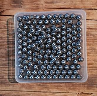 Gußstahlkugel, metrisch 5 mm, 144 Stück (1Gros)
