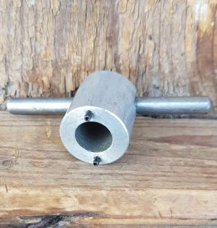 Spezailwerkzeug zum lösen div. Schutzkappen von Tretkurbelverschraubungen, 17 mm Bolzenabstand, Bolzendurchmesser 2 mm
