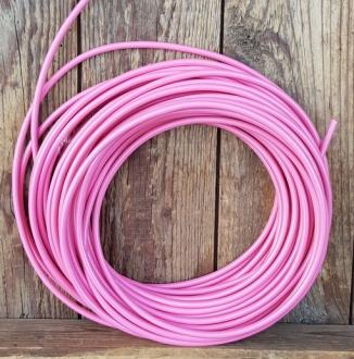 Bowdenzug Außenhülle, rosa,  Durchmesser außen 4.8mm, Durchmesser innen 2.5mm, 1 Meter