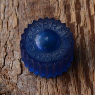 Reibradkappe f. Dynamo, blau, orig. 60-80er Jahre Altbestand