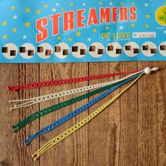 Streamer für das Lenkerende, orig. Altbestand !, kleiner Restposten, 60/70er Jahre!, L=30cm