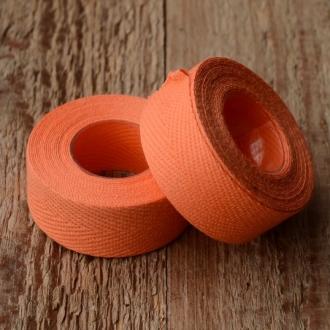 """Lenkerband """"TEXTIL / LEINEN"""", orange"""