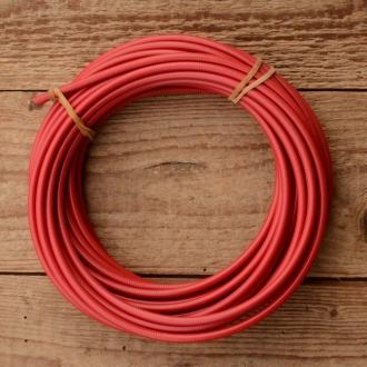 Bowdenzug Außenhülle, rot, Durchmesser außen 4.8mm, Durchmesser innen 2.5mm, 1 Meter