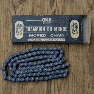 """Moped/Kleinkraftrad Kette, """"OKA"""", 1/2 x 3/16 verstärkt,  109 Glieder, passend u.a. für Mopeds u. Kleinkrafträder"""