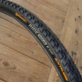 """Fahrrad Reifen """"CONTINENTAL"""", Ride Tour,  27"""" x 1 1/4, (32-630), schwarz"""