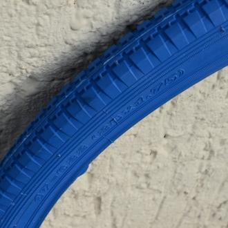 Fahrrad Reifen, 28 x 1,75 (47-622), blau, klassische Ausführung