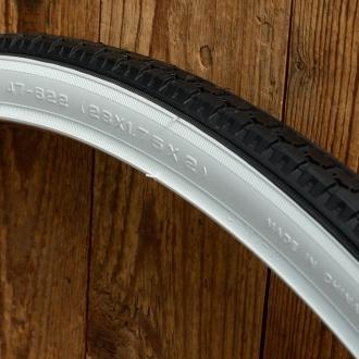 Fahrrad Reifen, 28 x 1,75 x 2 (47-622), Weißwand, Import in guter Qualität!