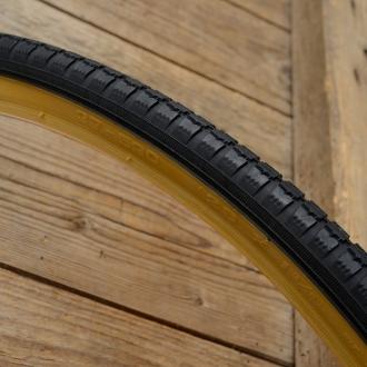 "Fahrrad Reifen, ""Cheng Shin"", 26 x 1 3/8  (37-590) , 650 x 35A, schwarz, Flanke braun, Neuware"