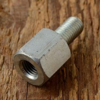 Achsverlängerung Hinterachse, Standardgewinde FG 9,5mm, L=31mm, SW 15mm,  Abb ähnlich