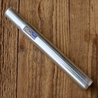 """Sattelstütze """"TITAN Belgium"""", Aluminium, D=26.2mm L=220mm, oben geschlossen, NOS"""