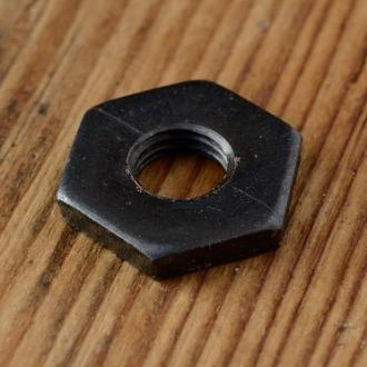 Kontermutter / Achsmutter FG 7.9mm, brüniert, für Vorderachse, SW17mm