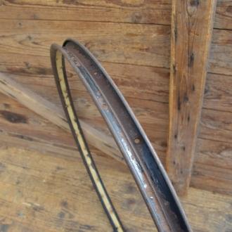 """Fahrradfelge für Wulstbereifung, 28"""", Stahl, 36-Loch, Breite 32 mm"""