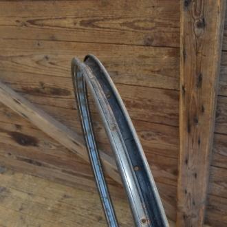 """Fahrradfelge für Wulstbereifung, 28"""", Stahl, 36-Loch, Breite 33,5 mm"""
