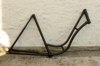 "Fahrradrahmen ""WANDERER"",  Damenausf., 28 Zoll , RH=55cm, orig. 30er J., ohne Gabel,  ohne. Tretlager"