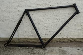 """Fahrradrahmen """"ADLER"""", Touren-Sport,  Herrenausf., 28 Zoll , RH=55cm, orig. 50er J., ohne Gabel,  ohne Tretlager"""