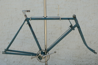 "Fahrradrahmen ""ADLER 3-Gang Getriebe"",  Herrenausf., 28 Zoll , RH=55cm, orig. 30er J., incl. Gabel,  u. Tretlager"