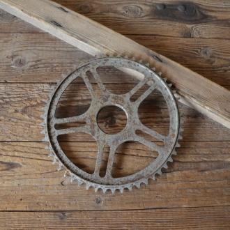 Kettenrad f. Mopednabe; Durchmesser ca. 46,5 mm im Gewinde gemessen, 50er Jahre