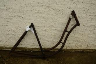 "Fahrradrahmen ""Opel"", 30er Jahre, Muffenlos, 28 Zoll, Rahmenhöhe = 50 cm"