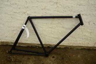 """Fahrradrahmen """"Opel"""" Herrenausf., 30er Jahre, muffenlos gefertigt, 28 Zoll, Rahmenhöhe = 57 cm"""