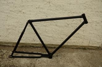 """Fahrradrahmen """"Wanderer"""", Rahmenhöhe = 55 cm, 28 Zoll, Rahmennummer 1359XXX, 1939"""