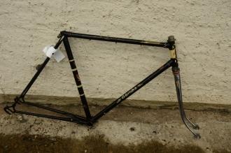 "Fahrradrahmen ""Göricke"", 28 Zoll, Rahmenhöhe = 55 cm, 50er Jahre"