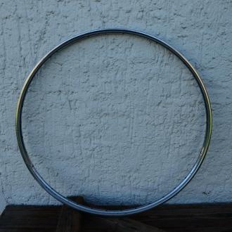 Felge 28 Zoll, Stahl verchromt, Breite 33,6 mm, 36-loch