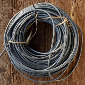 Bowdenzug Außenhülle, silbergrau, Durchmesser außen 4.8mm, Durchmesser innen 2.4 mm, pro Meter