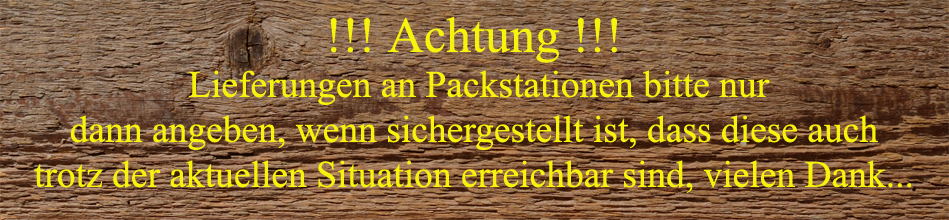 Packstation Warnung